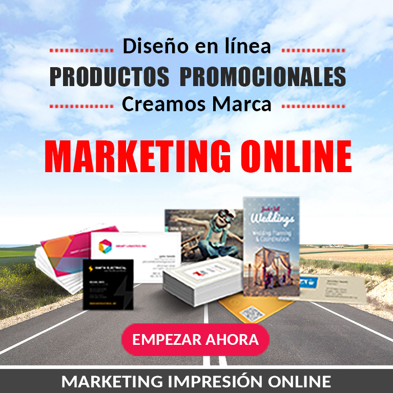 Marketing impresion diseño online NJ US